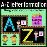 Free Alphabet Tracing Activities, Correct Letter Formation GOOGLE SLIDES™
