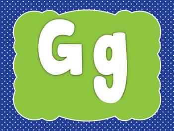 Alphabet Writing Videos - G, H