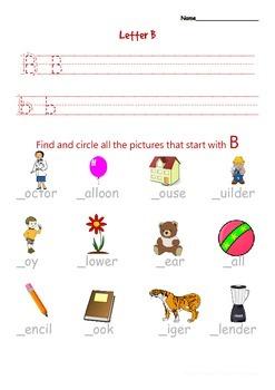 Alphabet Writing and Phonics