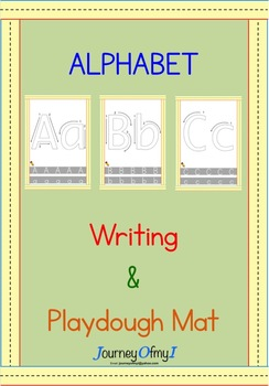 Alphabet Writing and Playdough Mat