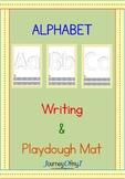 Alphabet Writing and Playdough Mat