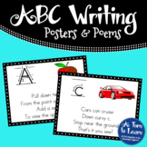 Alphabet Writing/Formation Signs/Posters