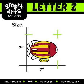 Alphabet Z Clip Art