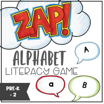 Alphabet - ZAP literacy game