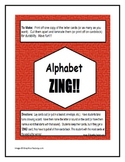 Alphabet ZING! Game for Letter and Sound Naming Practice