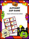 Alphabet Zap Game for Halloween