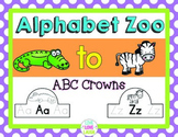 Alphabet Zoo From A to Z {ABC Crowns}