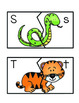 Alphabet Zoo From A to Z {Letter Puzzles w/Pictures}