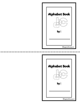 Alphabet abc Cards and Templates to Color