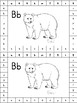 Alphabet and Animal Hole Punch Cards