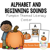Fall Alphabet Activity and Centers