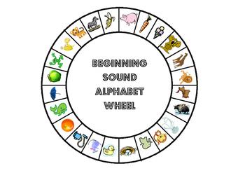 Alphabet and Beginning Sound Wheels