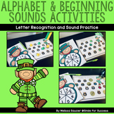 Alphabet and Beginning Sounds Activities | St. Patrick's D