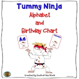 Alphabet and Birthday Chart- Tummy Ninja
