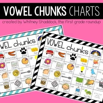 Phonics Charts BUNDLE