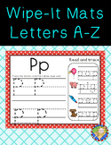 Alphabet A-Z and CVC Write It and Wipe It Boards, phonics