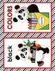 CLASSROOM DECOR: Alphabet, Color Posters, Red & Black, Pan