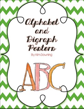 Alphabet and Digraph Posters