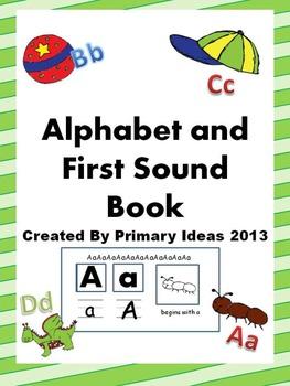 Alphabet and First Sound Book