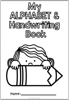 Alphabet and Handwriting Book QLD Beginners Font
