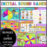 Alphabet and Initial Sound Games