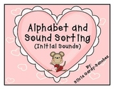 Alphabet and Initial Sound Sorting