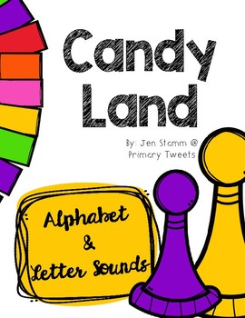 Alphabet and Letter Sound Candy Land