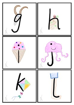 Alphabet and Letter-Sound Flashcards