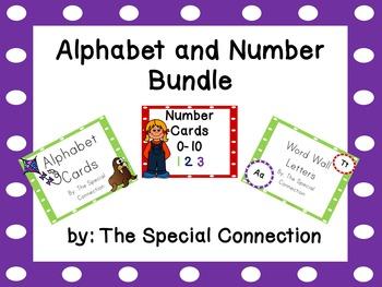 Alphabet and Number Bundle
