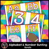 Alphabet and Number Bunting