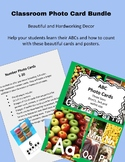 Alphabet and Number Cards High Resolution Photograph BUNDLE