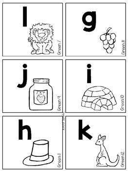 Alphabet and Number Flip Books