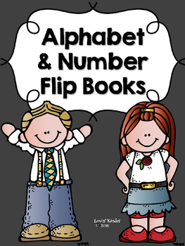 Alphabet and Number Flip Books