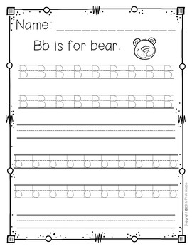 Handwriting Worksheets Bundle