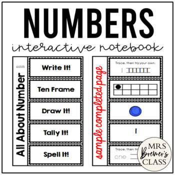 Alphabet and Number Interactive Notebook Bundle