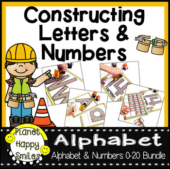 Alphabet and Number Mat Bundle