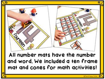 Alphabet and Number Mat Bundle