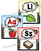 Alphabet and Number Posters - Superhero