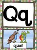 Alphabet and Number Posters and a Complete Word Wall Set -