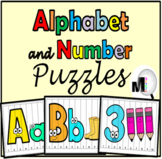 Alphabet and Number Puzzles 1-10