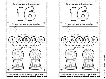 Alphabet and Number Scroll BUNDLE