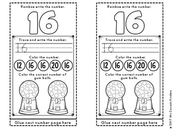 Alphabet and Number Scroll BUNDLE