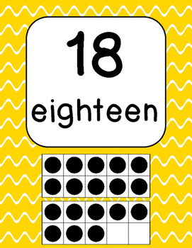 Alphabet and Number Sign Posters
