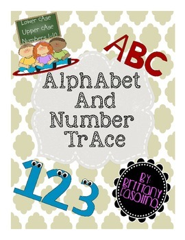 Alphabet and Number Trace