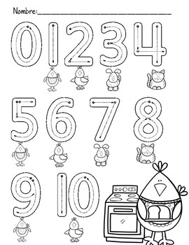 Alphabet and Number Tracing