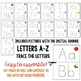 Alphabet and Number Tracing Cards:  Letters A-Z and Numbers 1-20