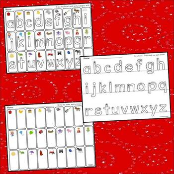 Alphabet and Number Tracing Pack (with Bonus Assessments)