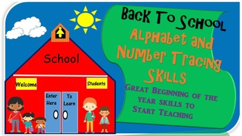 Alphabet and Number Tracing Skills