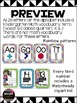 Alphabet and Number posters - Rainbow design Kindergarten