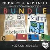 Alphabet and Numbers Bundle